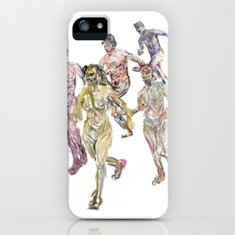 Naked Runners 2 iPhone Case