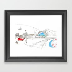 'CANADA' PART 3 OF 10* Framed Art Print