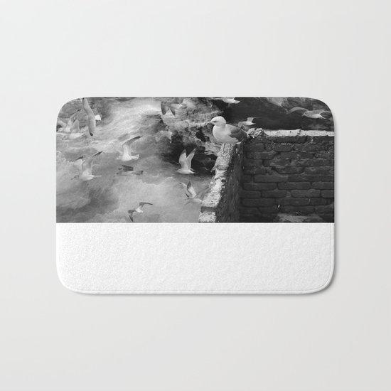 Seagulls Bath Mat