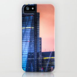 London afterglow iPhone Case