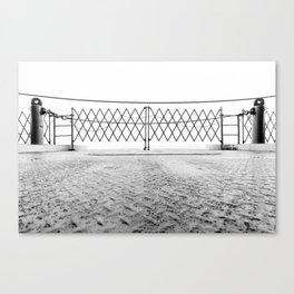 Ferry Fence Canvas Print