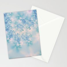 Blue Meditation Stationery Cards