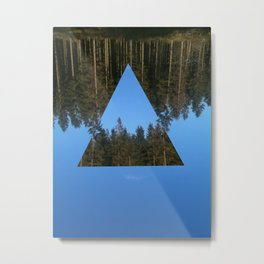 HIMLASKOGEN / WOODS IN THE SKY Metal Print