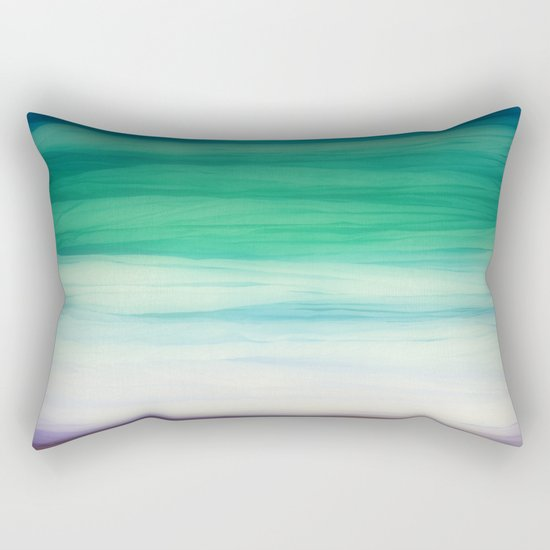 Sea abstract Rectangular Pillow