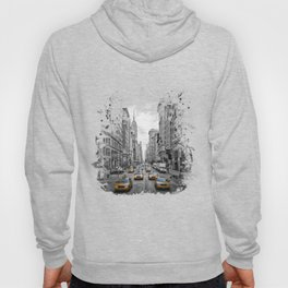 5th Avenue NYC Traffic Hoody