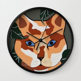 Putty Chow Wall Clock