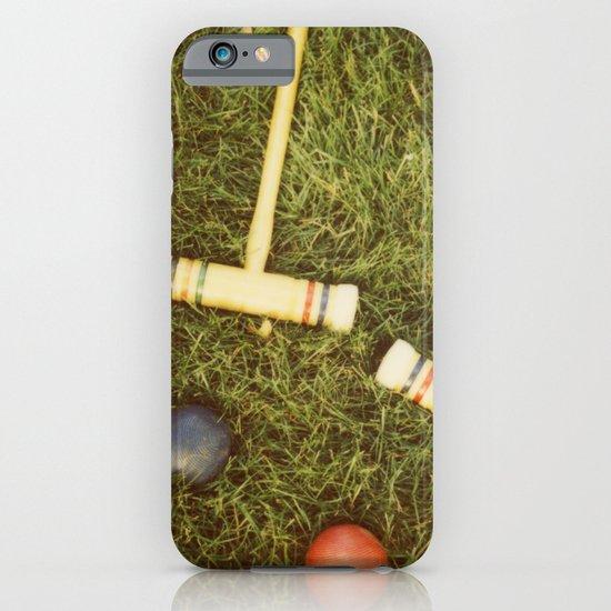 Croquet iPhone & iPod Case