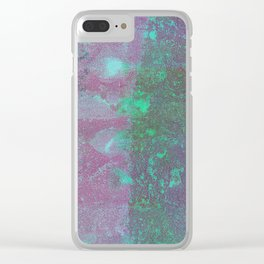 Abstract No. 118 Clear iPhone Case