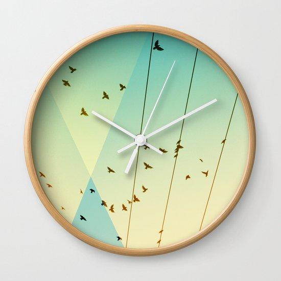 Cool World #3 Wall Clock