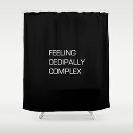 FREUDIAN FEELZ Shower Curtain