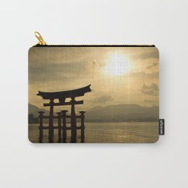 Sunset at Miyajima Carry-All Pouch