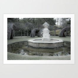 Font of Spring Art Print