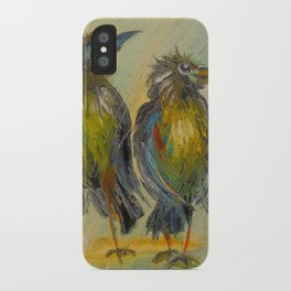 The long-awaited rain for the crows, iPhone Case