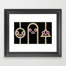 Quantum Teleportation Framed Art Print