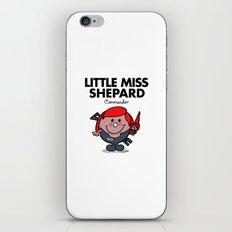Little Miss Shepard iPhone & iPod Skin