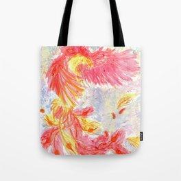 Firey Phoenix Tote Bag