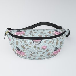 Cats and Flowers (Paeonies) Fanny Pack