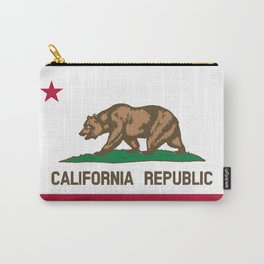 Flag of the State of California Carry-All Pouch
