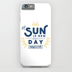 Heraclitus - The sun is new each day iPhone 6s Slim Case