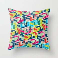 Chicken Bus - 2 Throw Pillow