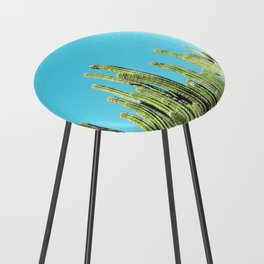 Desert Cactus Reaching for the Blue Sky Counter Stool