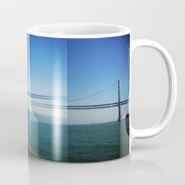 Gull and Bay Bridge Coffee Mug