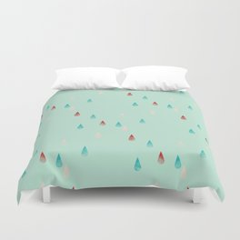 Raindrop Repeat Duvet Cover