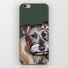 Maggie the irish terrier iPhone Skin