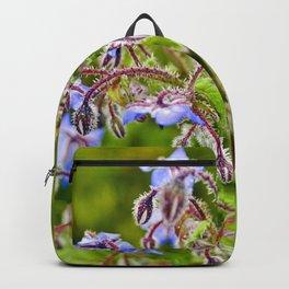 Wild Blue Borage Backpack