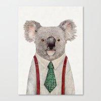 koala Canvas Prints featuring Koala by Animal Crew