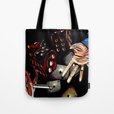 Rollin (black/red) Tote Bag
