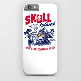 Skull Island Helicopter Adventure Tours iPhone Case