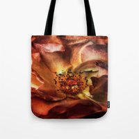 fireworks Tote Bags featuring fireworks by lucyliu