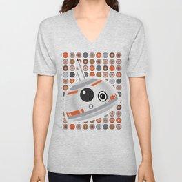 BB-8 droid Unisex V-Neck