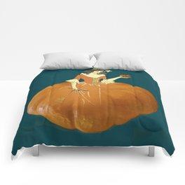 Lady Pumpkin for Halloween Comforters