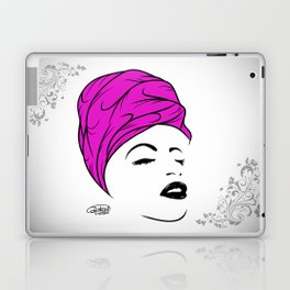 Lady Wrap (purple) Laptop & iPad Skin