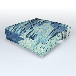 Summertime swimming Outdoor Floor Cushion