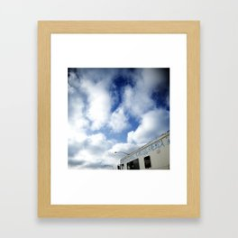 Freeway_2 Framed Art Print
