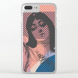 Salome Clear iPhone Case