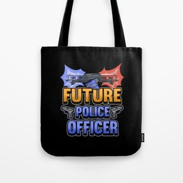 Funny Future Cop Police Gift Tote Bag