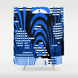 interlacing Shower Curtain