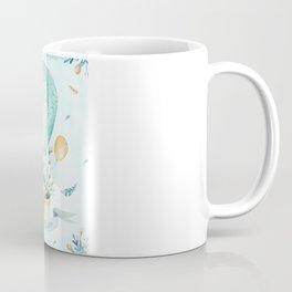 Cute Easter Bunny Hot Balloon Coffee Mug
