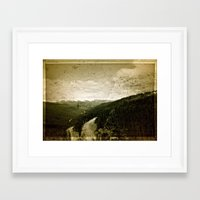 welcome Framed Art Prints featuring Welcome  by n8 bucher
