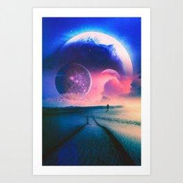 Hills Of The Desert Art Print