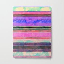 Serape Stripe {DC} Metal Print