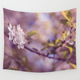 Spring Flowers, Sakura Photography Wall Tapestry