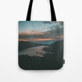 Columbia River Gorge Sunset Tote Bag