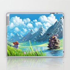 Howls Moving Castle Laptop & iPad Skin
