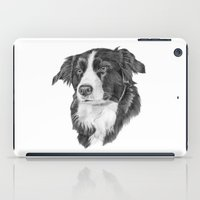 border collie iPad Cases featuring Border collie 2 by Doggyshop