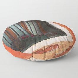 A Window in Italy Floor Pillow